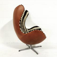 Egg Chairs For Sale Windsor Chair Company Arne Jacobsen In Zebra Hide And Leather