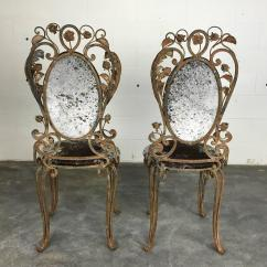 Cowhide Chairs Nz Old Chair Covers Hire Beautiful Pair Of Iron Garden With For Sale