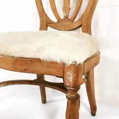 Cowhide Chairs Nz Chair Covers Merthyr Tydfil Vintage Maple Dining In Brazilian Ivory