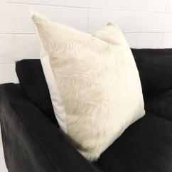 Cowhide Sofa Throws Shayla Queen Sleeper Reviews Ivory Brazilian Pillow For Sale At 1stdibs