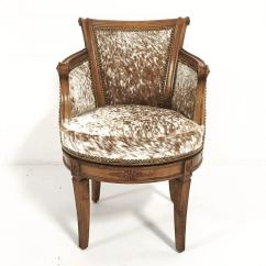 Cowhide Chairs Nz Recliner Disc Chair Target Vintage Swivel In Brown And White Speckled Brazilian