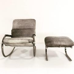Cowhide Chairs Nz Elite Massage Design Institute Of America Rocker And Ottoman In