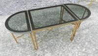 Maison Bagus, 1950 Adjustable Coffee Table in Brass ...