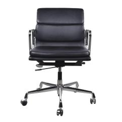 Vitra Office Chair Dining Arm Chairs Eames Ea217 Management Soft Pad At 1stdibs