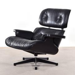 Vitra Lounge Chair Modern Kids Chairs Eames Black For Sale At 1stdibs