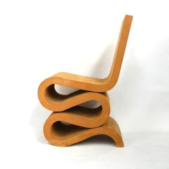 Frank Gehry Cardboard Chairs Minnie Mouse Table And B M Wiggle Chair For Sale At 1stdibs