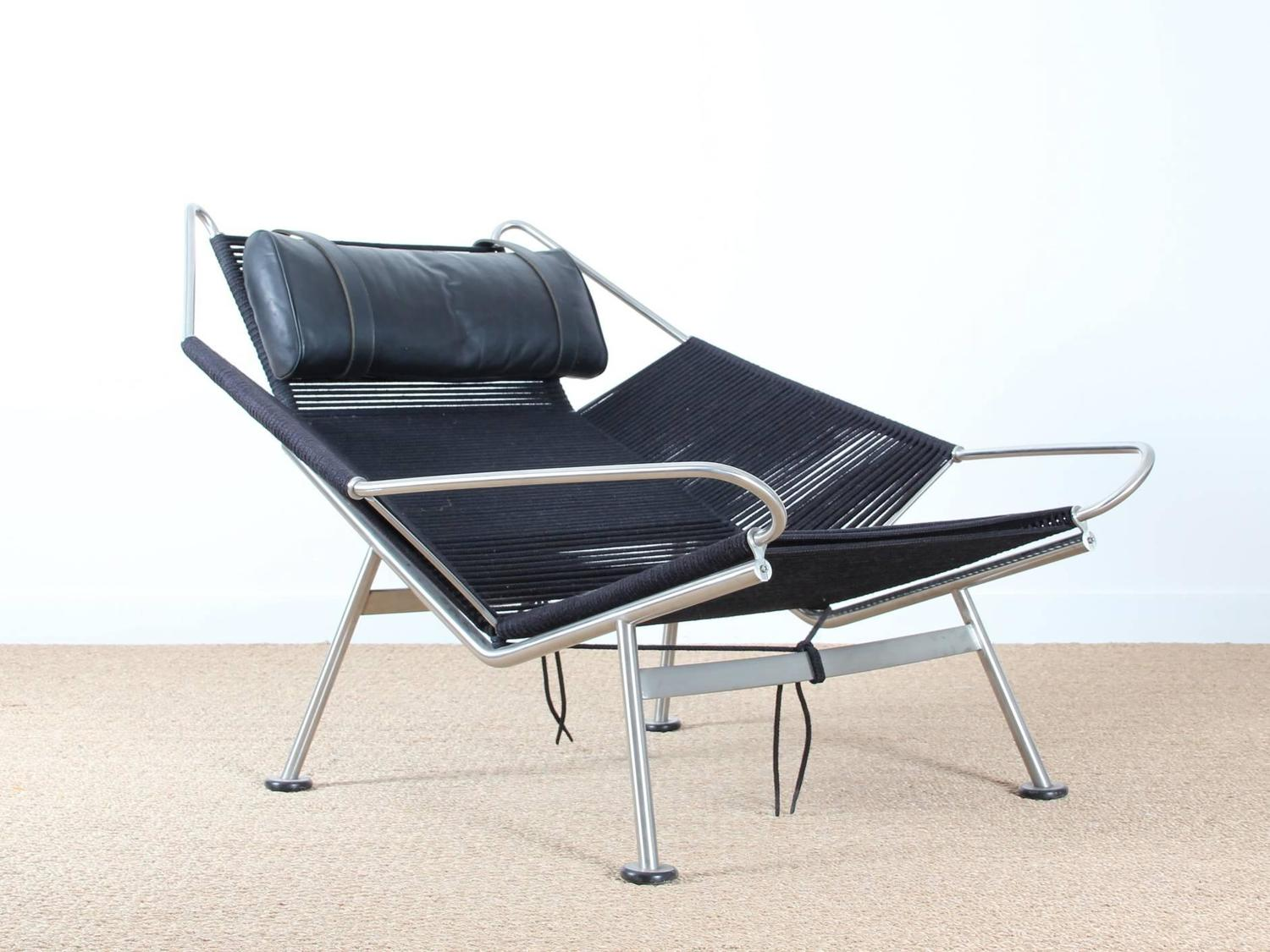 flag halyard chair decorating ideas lounge pp 225 by hans wegner new