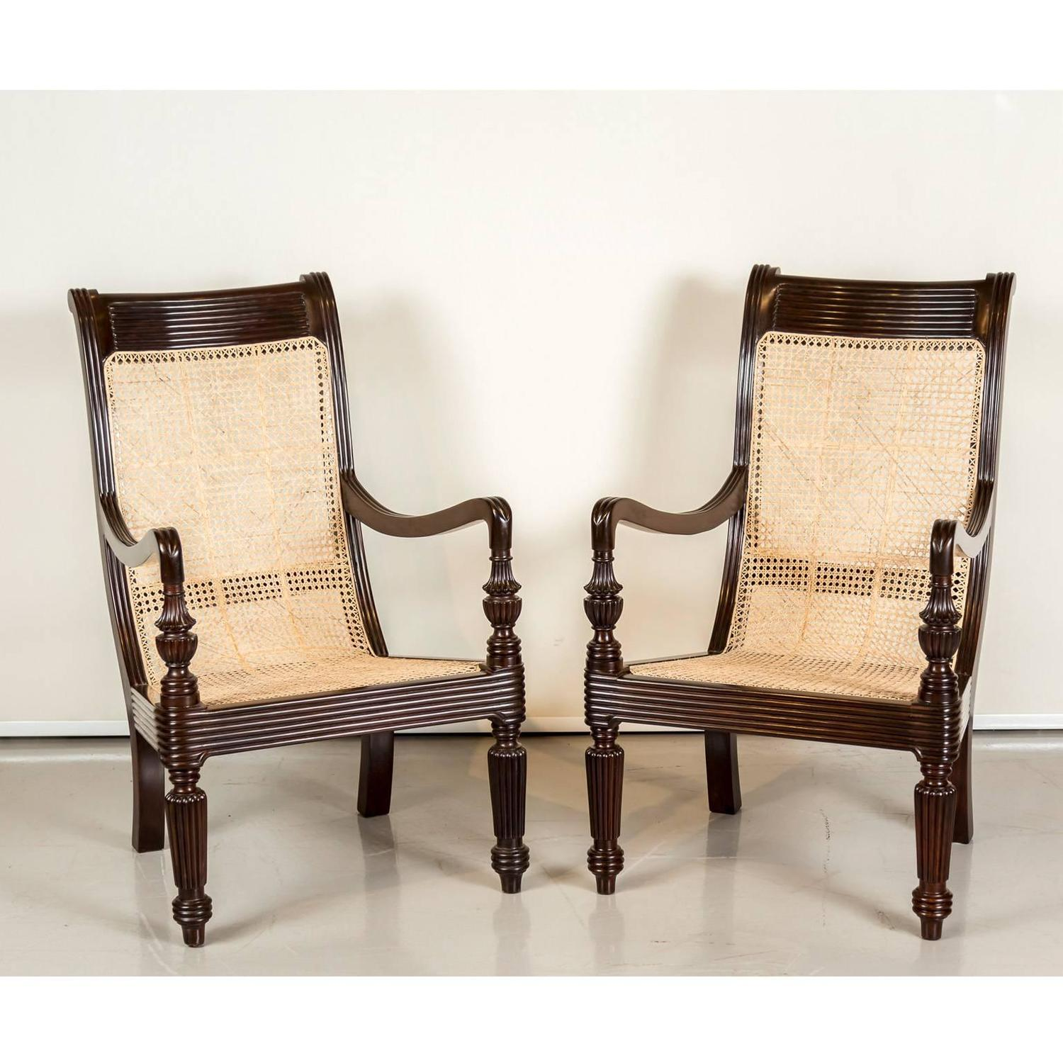 british colonial chair affordable massage pair of antique anglo indian or rosewood