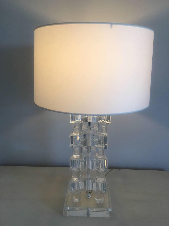 Vintage Lucite Lamp  Collage Porn Video