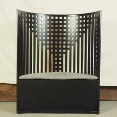 Charles Rennie Mackintosh Willow Chair Lounge Material Design Demilune At 1stdibs Mid Century Modern For Sale