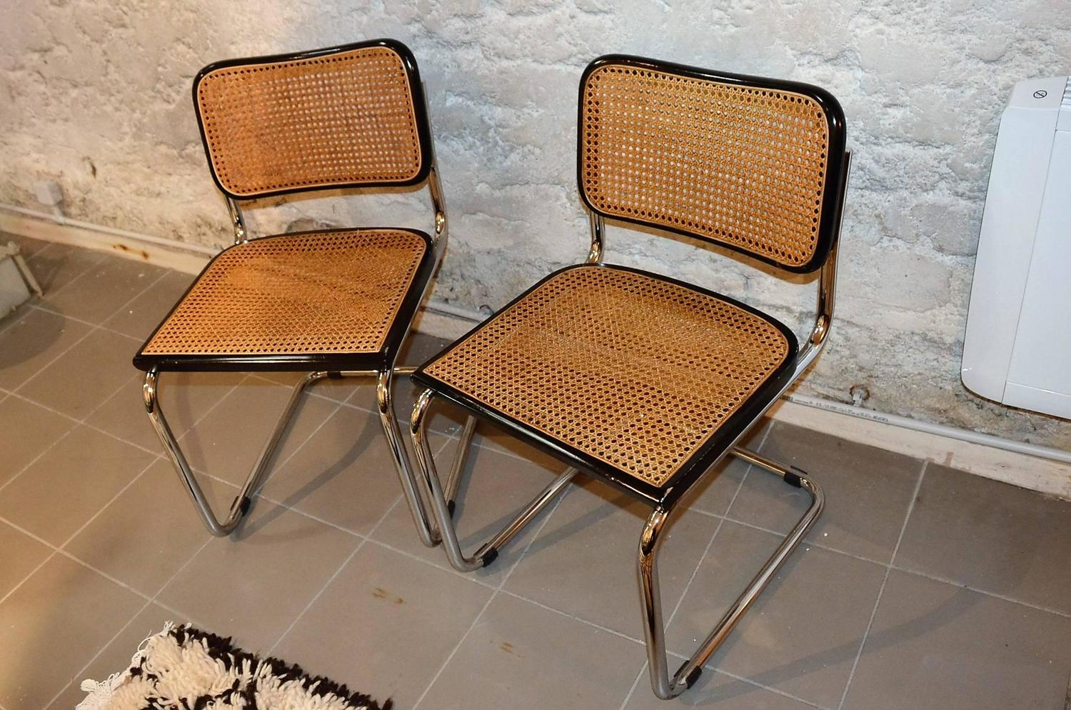 marcel breuer chair original dorothy draper chairs vintage set of cesca for