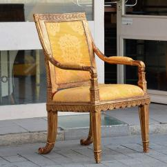 Kings Chair For Sale Wooden Outdoor Chairs French King Throne Gold Leaf Ornate Circa 1960