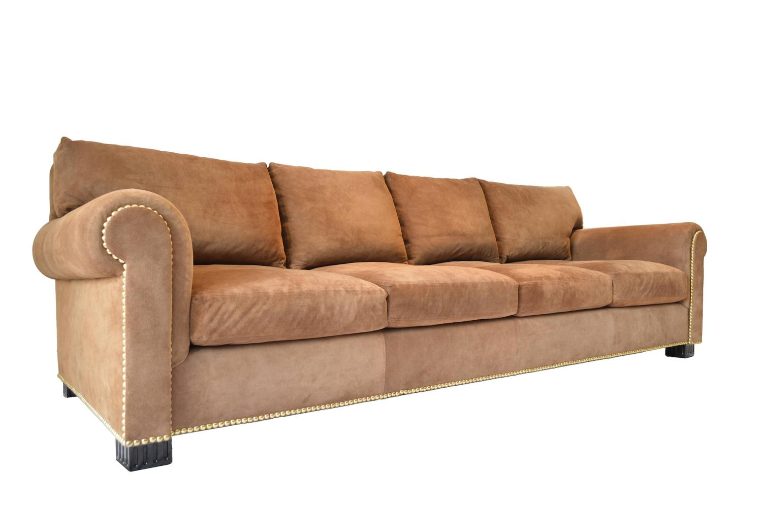 ralph lauren chair lee industries swivel suede rolled arm sofa by for sale at 1stdibs