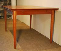 Danish Mid-Century Modern Teak Extension Dining Table ...