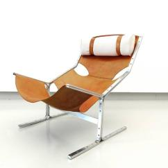 Steel Lounge Chair Power Reclining Chairs Leather And Brushed By Polak Netherlands Circa This Iconic Rare Is A Remarkable Example Of Modernist Dutch Furniture Design From
