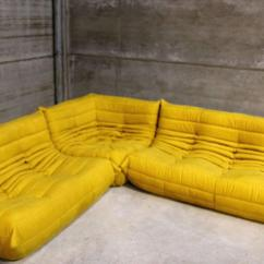 Corner Modular Sofa Wedding Rental Vintage Yellow Togo Set, Michel Ducaroy For Ligne ...