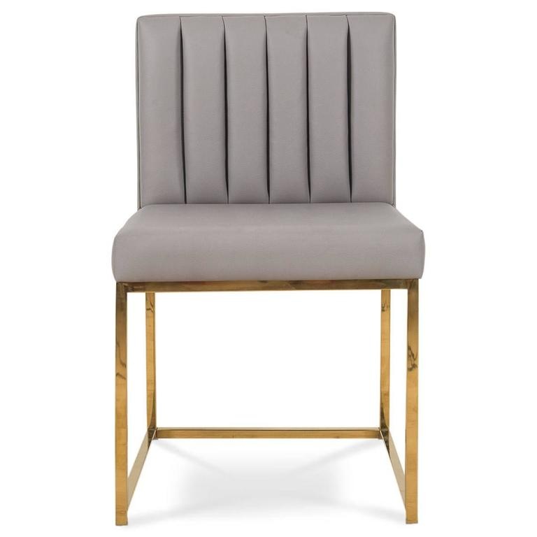 faux leather dining chairs beauty salon images mid century style chair w long arm tufting and sleek stylish these beautiful will add some class to your room