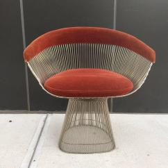 Mid Century Modern Wire Chair Bucket For Elderly Warren Platner Knoll Accent