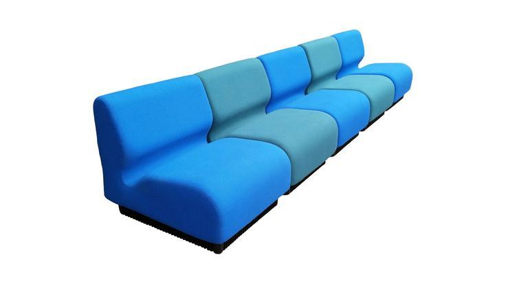 chadwick sofa long back of table beautiful 1975 don modular for herman miller at 1stdibs mid century modern sale