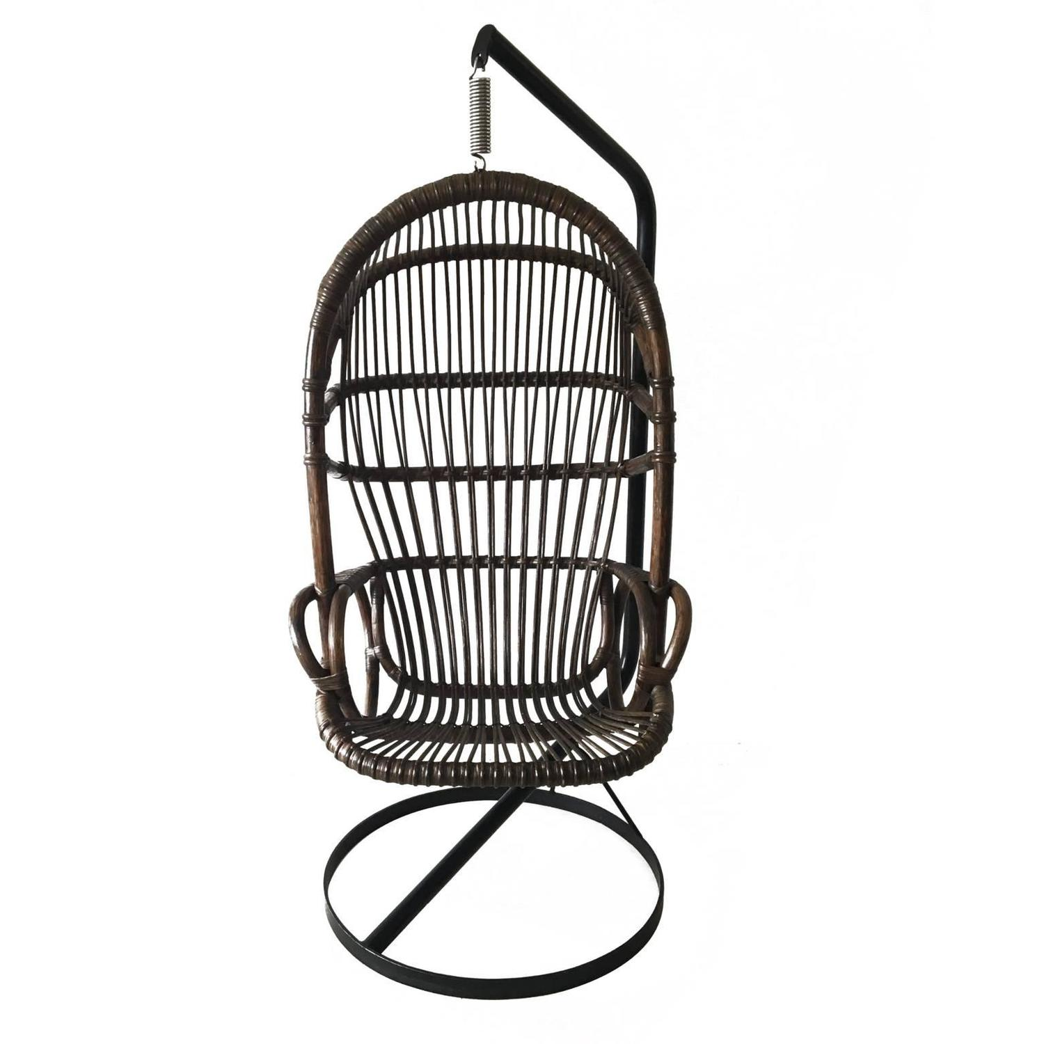 hanging chair cane cover rental ct by rohé noordwolde 1960s for sale at