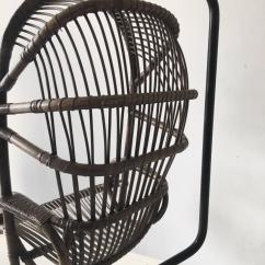 Hanging Chair Cane Tray For By Rohé Noordwolde 1960s Sale At