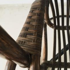 Cane Hanging Chair New Zealand Fabric Oak Dining Chairs By Rohé Noordwolde 1960s For Sale At