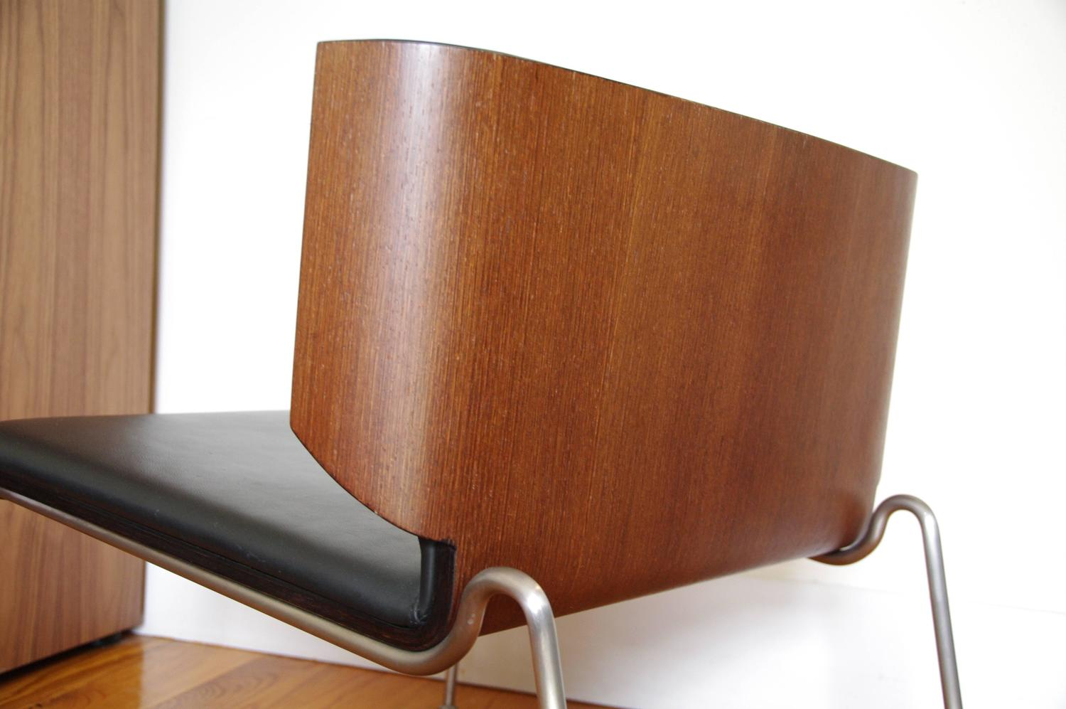 modern armchair design best high chairs for small spaces italian black leather and wenge wood