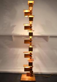Fantastic Taliesin Frank Lloyd Wright Wood Floor Lamp at ...