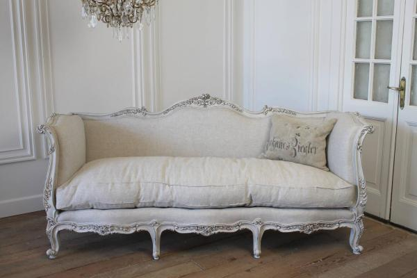 French Daybed Sofa Couch