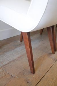 Set of Six Mid-Century Milo Baughman Dining Chairs at 1stdibs