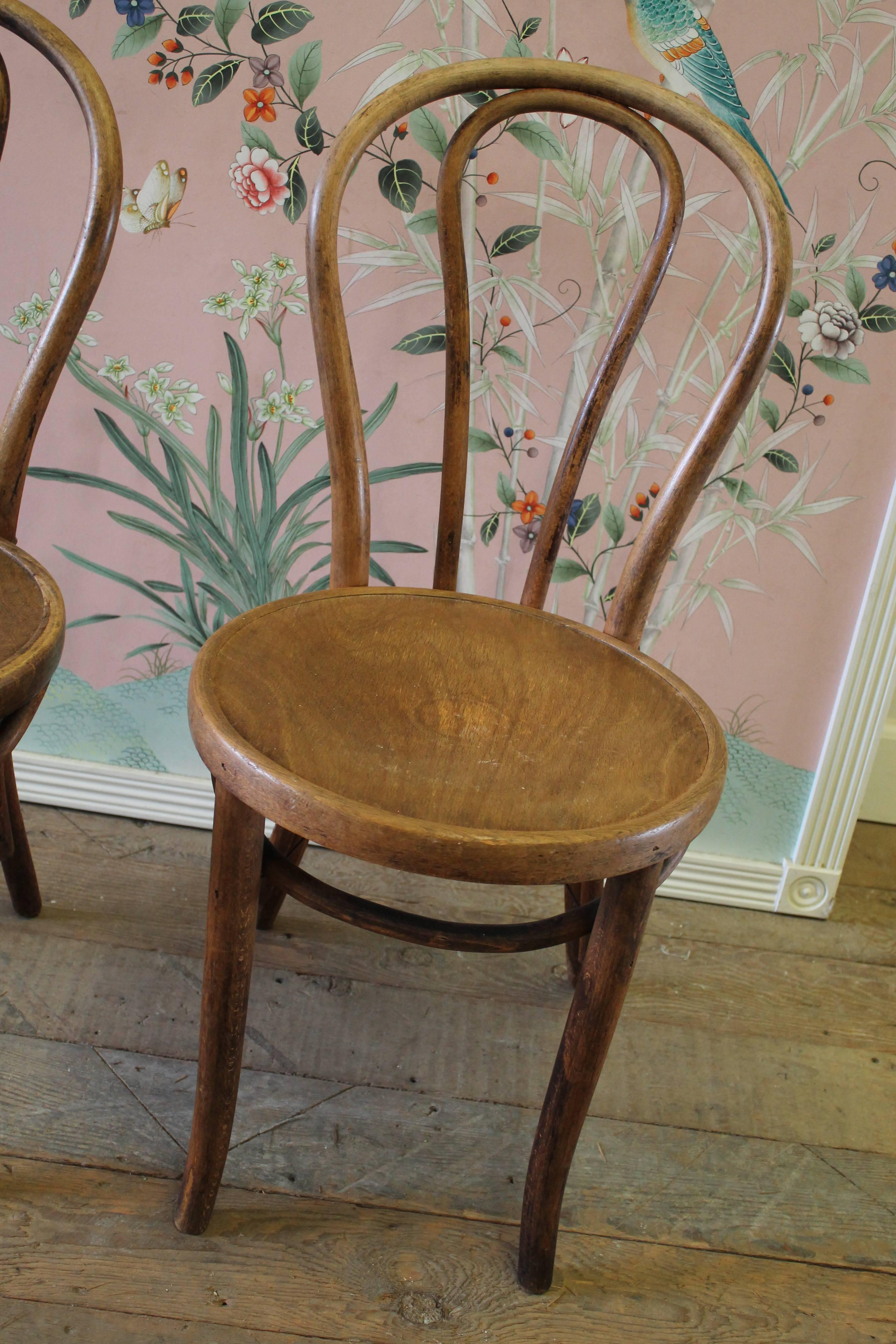 vintage bentwood chairs pool chair accessories pair of with embossed wood seat at 1stdibs each is very sturdy