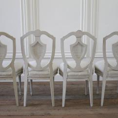 Antique Cane Dining Room Chairs Swivel Chair Harveys Set Of Four French For Sale At