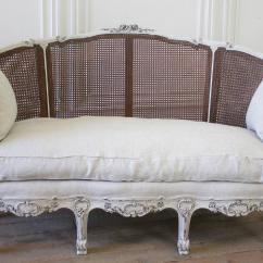 1930 Cane Back Sofa Tillary Outdoor Reviews 19th Century Antique French Louis Xv Style