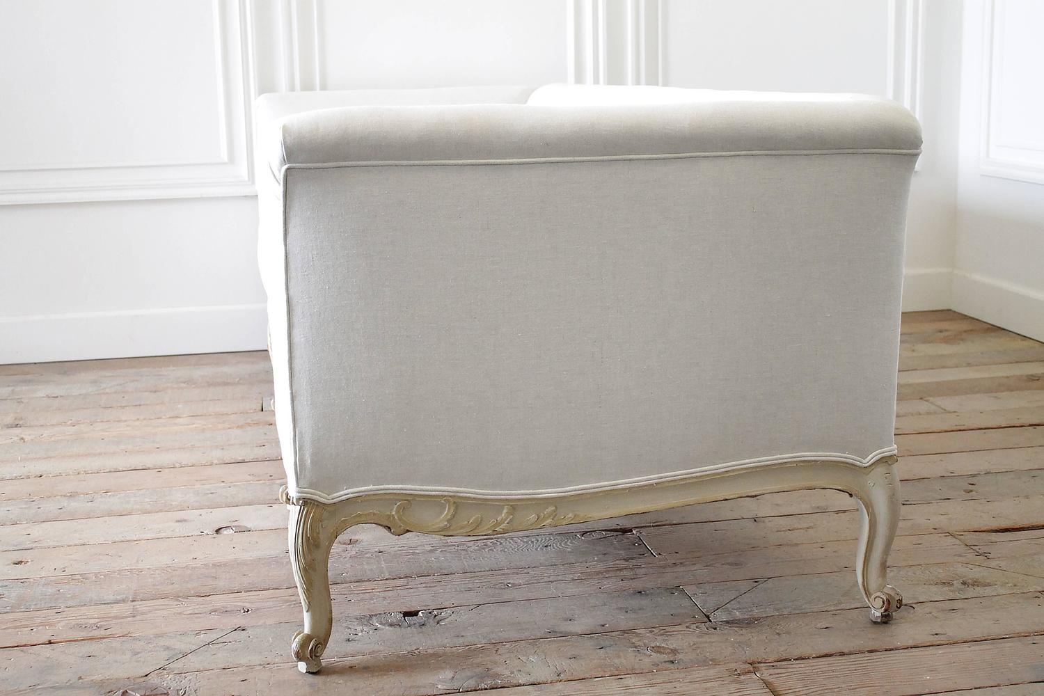 french style sofas for sale milano 4 seater sofa set antique painted country louis xv settee