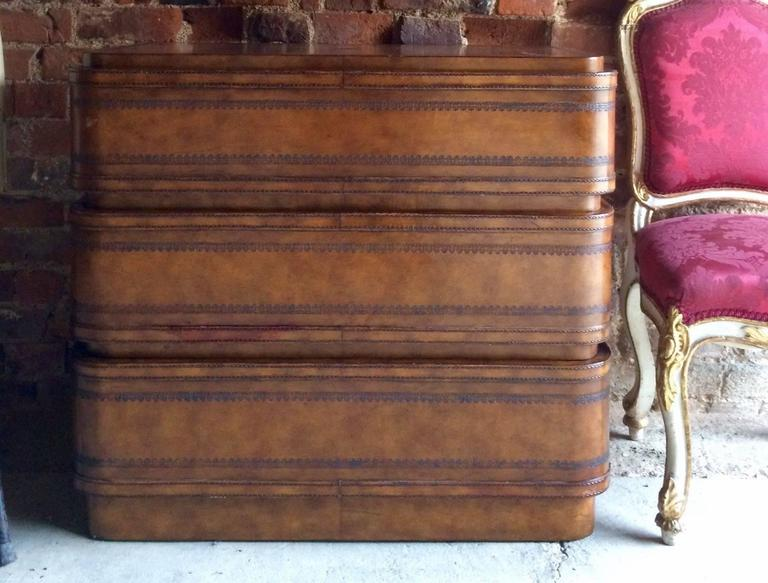Maitland Smith Chest Of Drawers Dresser Commode Art Deco