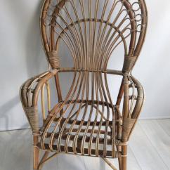 Rattan Peacock Chair Ercol Dining Room Covers Iconic 1970s For Sale At 1stdibs