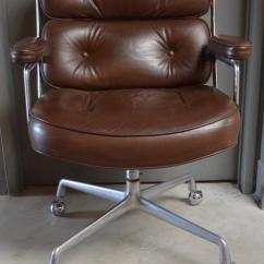 Desk Chair Brown Leather Plastic Patio Chairs Lowes Vintage Eames Time Life For Sale At 1stdibs Great Office From The Building In New York Dated Feb
