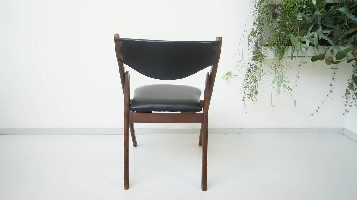modern folding chair amish 3 in 1 high plans mid century allan gould 1950s at