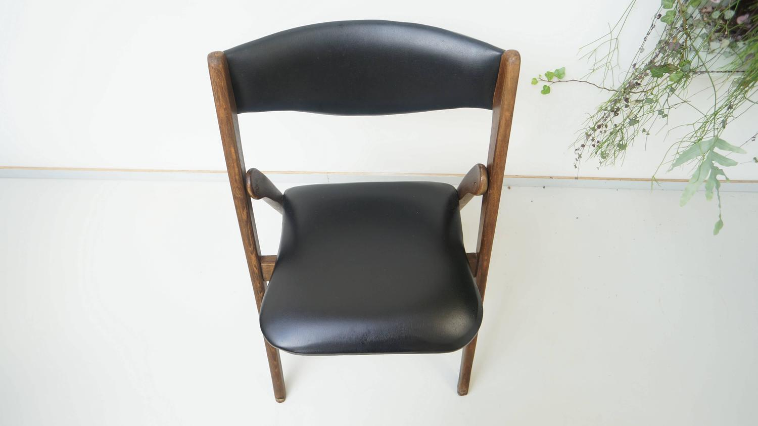 Modern Folding Chairs Mid Century Modern Folding Chair Allan Gould 1950s At