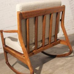 Danish Modern Rocking Chair Chairs For Children Teak At 1stdibs