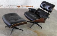 Vintage Herman Miller Eames Lounge Chair and Ottoman in ...