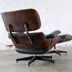 Eames Lounge Chair Used Rolling Mats For Hardwood Floors Vintage Herman Miller And Ottoman In