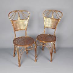 Boondocks Steel Chair Effect Wingback Chairs Johannesburg Pair Of 1960s Italian Brass Gilded Metal Side