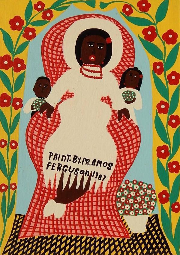 Famous Bahamian Artist Amos Ferguson