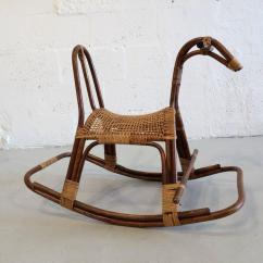 Horseshoe Rocking Chair Booster Baby Swedish Children 39s Horse Rocker At 1stdibs