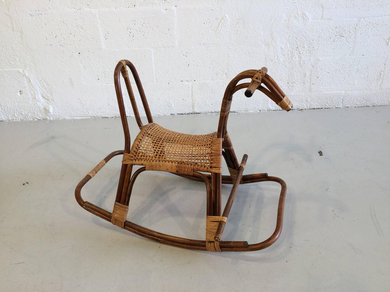 horseshoe rocking chair stair lift swedish children 39s horse rocker at 1stdibs