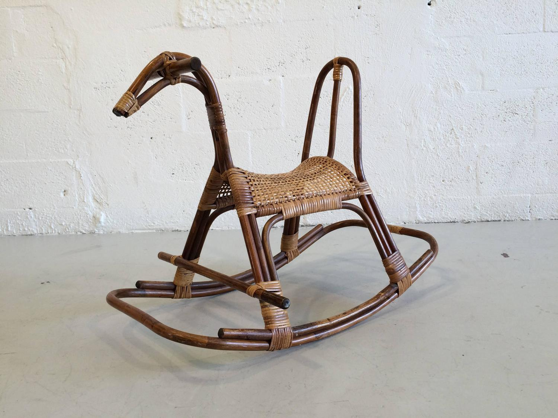 horseshoe rocking chair modern yellow swedish children 39s horse rocker at 1stdibs