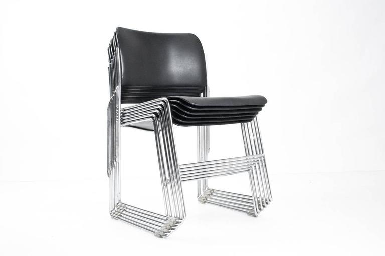 david rowland metal chair mongolian fur 10 all early 1960s edition 40 4 chairs for howe scandinavian modern