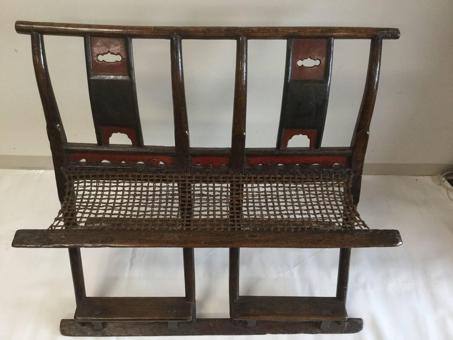 folding japanese chair hanging egg new zealand double chinese hunting for sale at 1stdibs