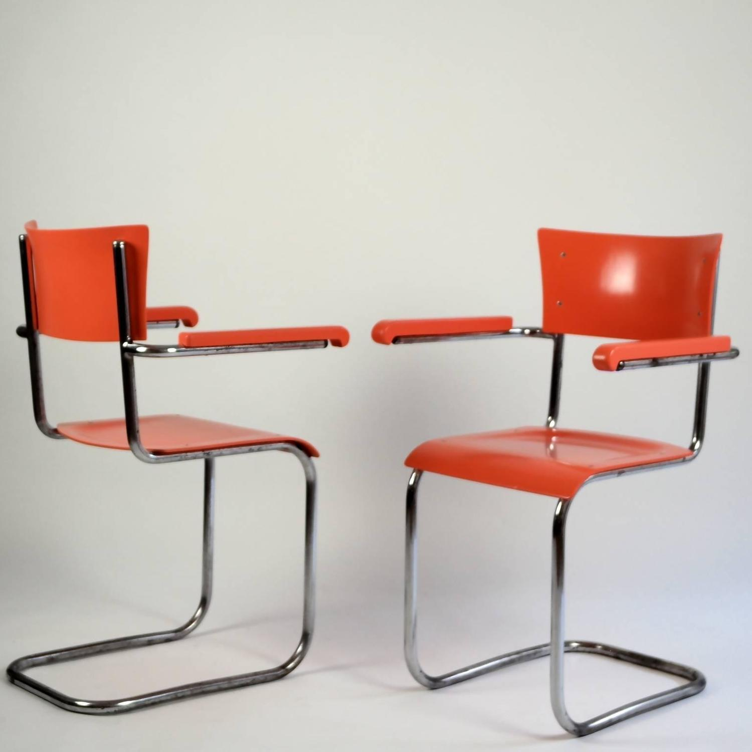 mart stam chair white plastic stackable chairs bauhaus tubular 1920s for sale at 1stdibs